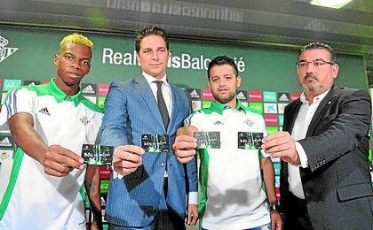 Presentación de la campaña de abonos del Real Betis Futsal.