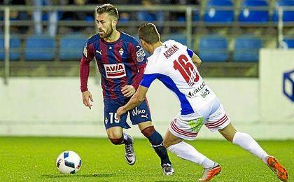 Antonio Luna, que se medirá con el Eibar al Sevilla
