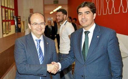 José Castro y Ángel Haro durante un evento el año pasado.