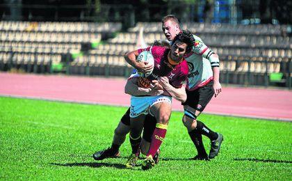 El Helvetia Rugby supo sufrir para amarrar en los instantes finales una importante victoria en su feudo.
