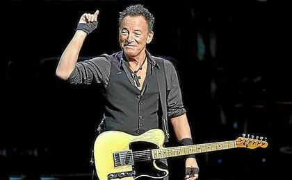 Bruce Springsteen (Nueva Jersey, 1949).