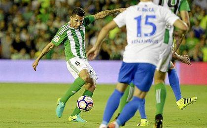 El ex del Corinthians fue el futbolista que más recuperaciones de balón hizo ante el Málaga, con 10.