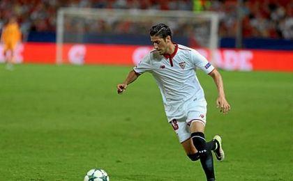 """Escudero dijo que el Lyon es """"un equipo fuerte, bastante rápido y muy físico""""."""