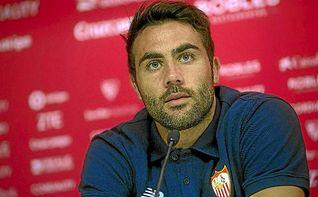 Iborra: �El Sevilla me ha dado la oportunidad de crecer y ganar t�tulos�