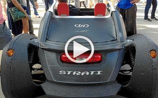 Strati, el primer coche impreso en 3D que saldr� a la venta