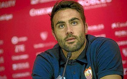 Vicente Iborra, durante su rueda de prensa.