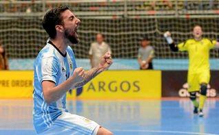 5-2. Argentina golea a la favorita Portugal y disputar� el t�tulo con Rusia