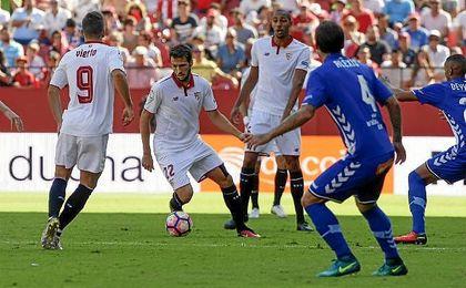 """""""En el segundo tiempo pudimos ser más rápidos en ataque y pudimos materializar"""", afirmó Vázquez."""