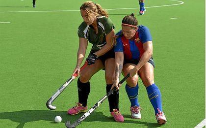 Convincente estreno del equipo universitario en hockey hierba.