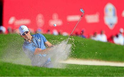 El golfista español Cabrera Bello destacó en la Ryder Cup.