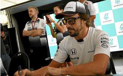 Fernando Alonso volvi� a puntuar en el Gran Premio de Malasia.