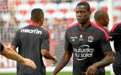 El futbolista Mario Balotelli ha iniciado con buen pie la temporada en el Niza francés.