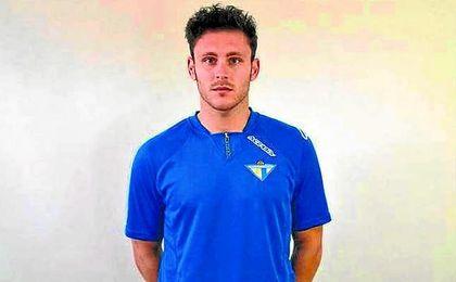 El delantero del Écija Alberto Castro.