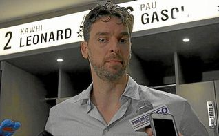 Pau Gasol debuta con los Spurs en el triunfo ante los Hawks
