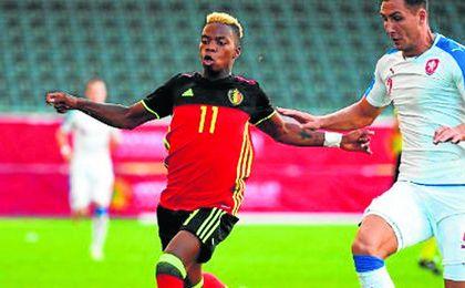 Charly Musonda se jugará mañana la clasificación al Europeo sub 21 contra la selección de Letonia.