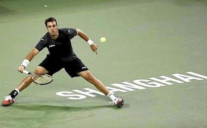 Marcel Granollers eliminó a Sugita en dos sets: 7-5 y 7-6(2).