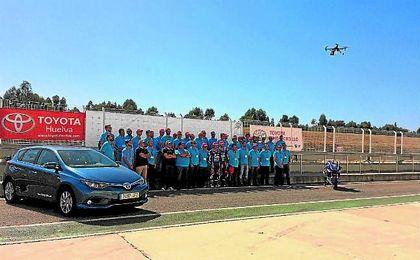 Imagen del evento celebrado en La Palma del Condado (Huelva) el pasado fin de semana.