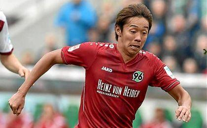 Hiroshi Kiyotake llegó al Hannover en 2014.