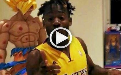 "Michy Batshuayi enseña su ""museo"" de 'Dragon Ball'"