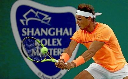 Nadal cae en su debut en Shanghai ante Troicki.