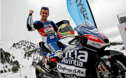 Héctor Barberá se subirá a la moto de Andrea Iannone en el GP de Japón.