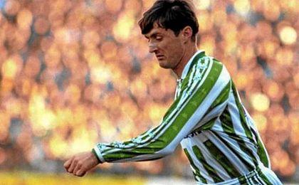 Robert Jarni, el que fuera extremo zurdo del Real Betis y del Real Madrid entre otros equipos.