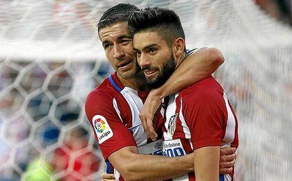 Carrasco fue el héroe del Atlético.