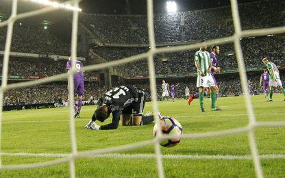 El Real Madrid fue muy superior al Betis.