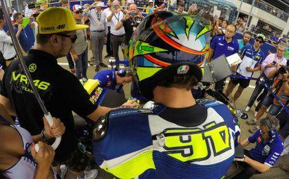 Rossi saldrá primero en MotoGP.