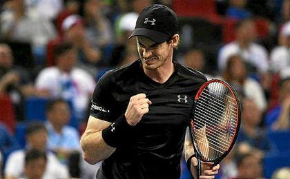 El tenista británico Andy Murray sumó su sexto título del año.