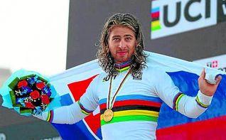 Sagan revalida el arco iris