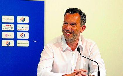Tomislav Svetina, CEO del Dinamo de Zagreb.
