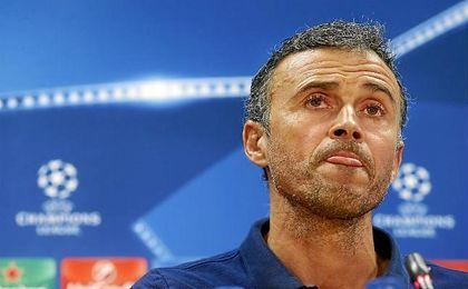 Luis Enrique asegura que el partido ante el Manchester City ser� un gran duelo.