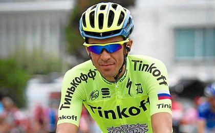 Alberto Contador, de 33 a�os, tratar� de volver a lo m�s alto del podio el pr�ximo a�o.