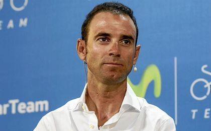 Alejandro Valverde llegó al equipo en 2005.
