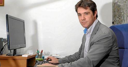 David Guevara, delegado de Deportes del Ayuntamiento de Sevilla.