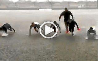 El Betis pone al mal tiempo buena cara