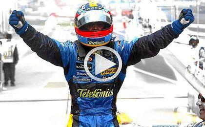 Fernando Alonso cumple diez años de su segundo Mundial de Fórmula Uno