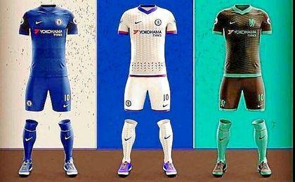 Ya son varios los bocetos de la nueva ropa del Chelsea con Nike.