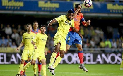 Bakambú marcó el gol que le dio el triunfo al Villarreal.