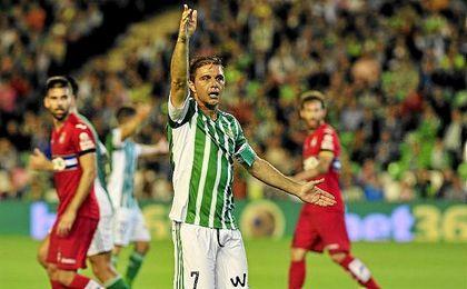 En su última visita al Benito Villamarín, la temporada pasada, el Espanyol se impuso por 1-3.