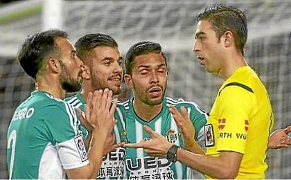 Con Vicandi Garrido el Betis solo ha perdido en un encuentro.
