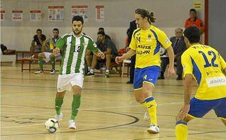 Betis Futsal 4-3 Cidade de Narón: Primera victoria verdiblanca en Amate