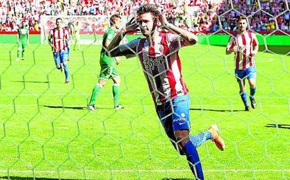 Duje Cop ha anotado tres goles en los nueve partidos de Liga.