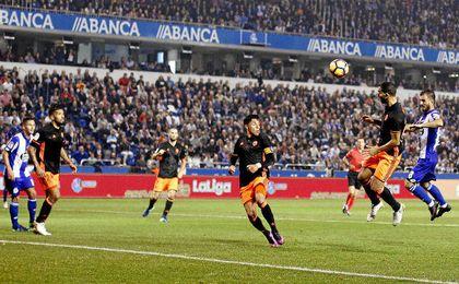 El Deportivo se adelantó en el marcador, pero no logró defender su renta.
