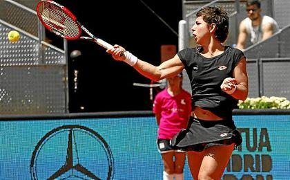 Acaba la temporada para la tenista española.