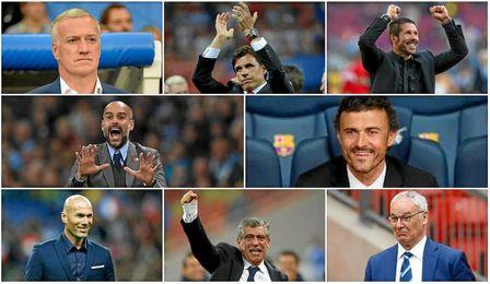 Lista de los candidatos a Mejor Entrenador FIFA.