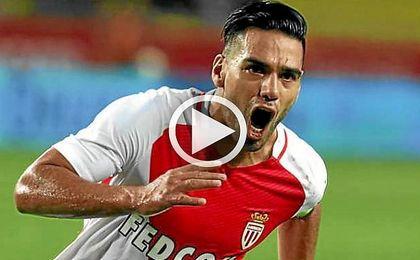 Falcao vuelve a encontrarse con el gol
