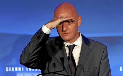 Infantino tiene la misión de limpiar el organismo rector del fútbol mundial.