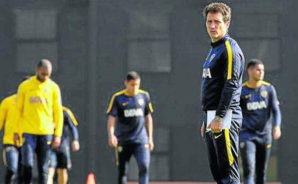 Guillermo Barros Schelotto, técnico de Boca.